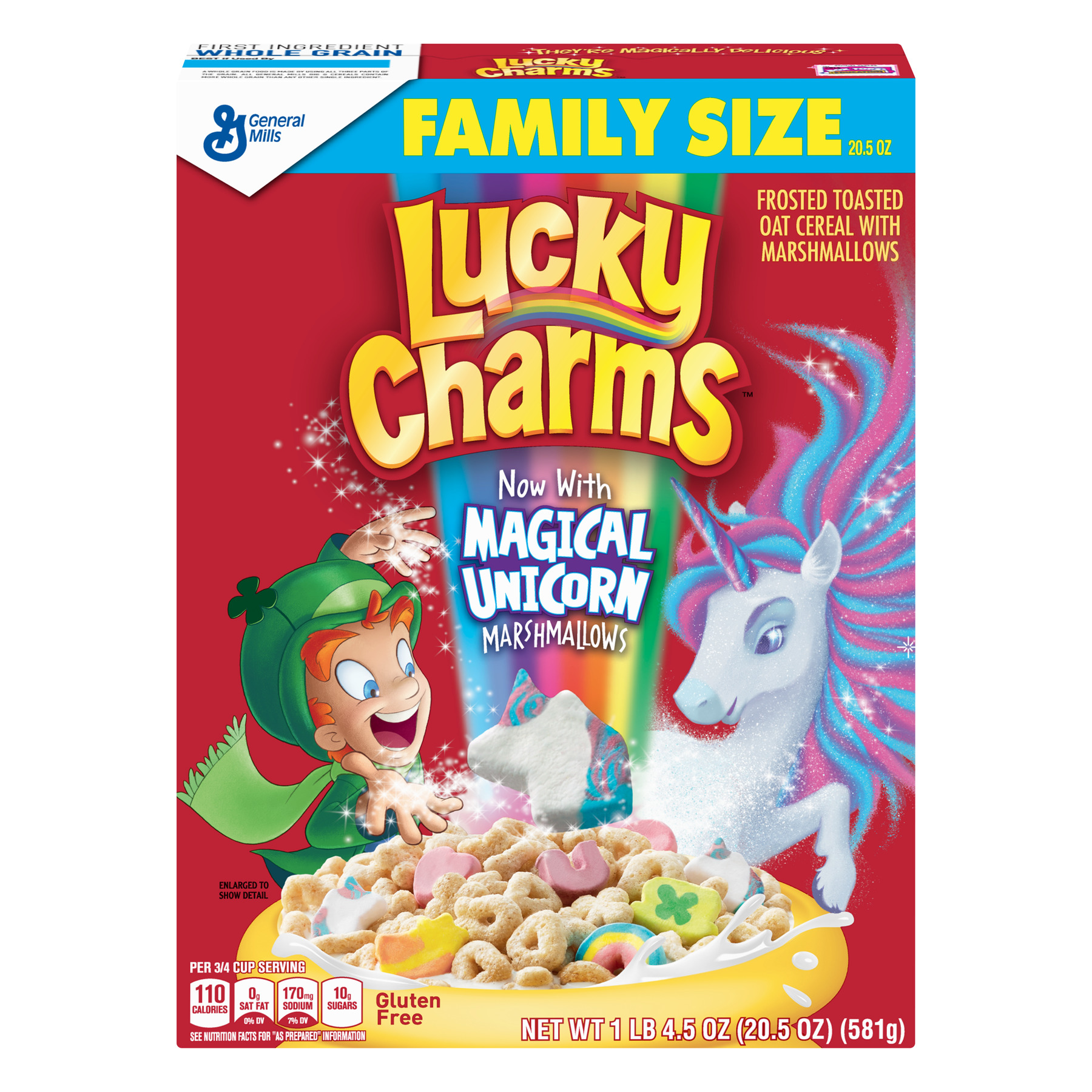 Lucky Charms Gluten Free Breakfast Cereal, 20.5 oz