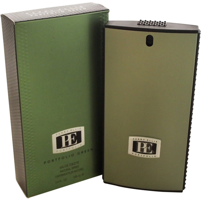 Portfolio Green by Perry Ellis for Men EDT Spray, 3.4 oz