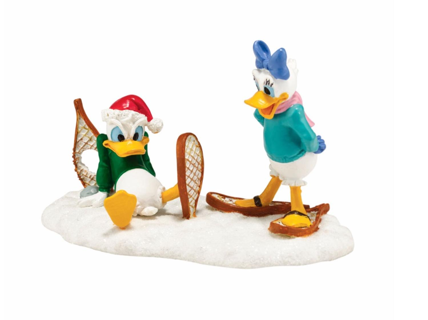 "Department 56 Disney ""Donald's Snowshoe Adventure ..."
