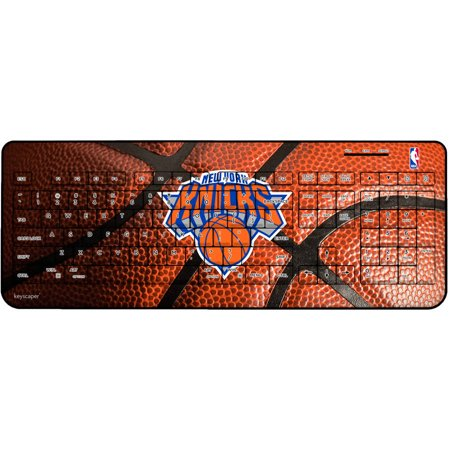 New York Knicks Basketball Design Wireless USB Keyboard by Keyscaper by