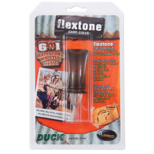 Flextone Hunter Series 6-N-1 Waterfowl Whistle