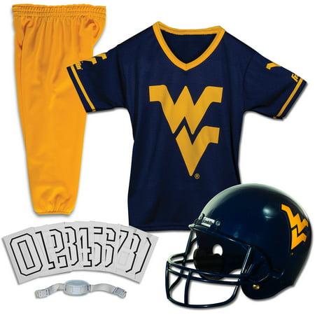 Franklin Sports NCAA West Virginia Mountaineers Uniform Set, Small ()