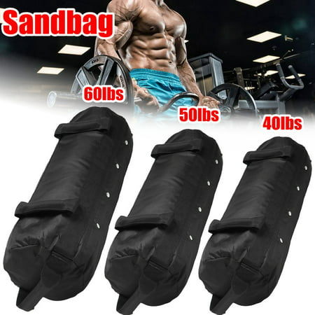 Fitness Weight Sandbag Heavy Duty Workout Exercise Training Bag For Training Exercise Strength Sports, 40/50/60