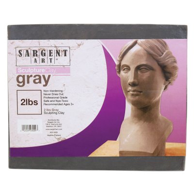 Sargent Professional Sculpting Clay - Gray, 2 lb