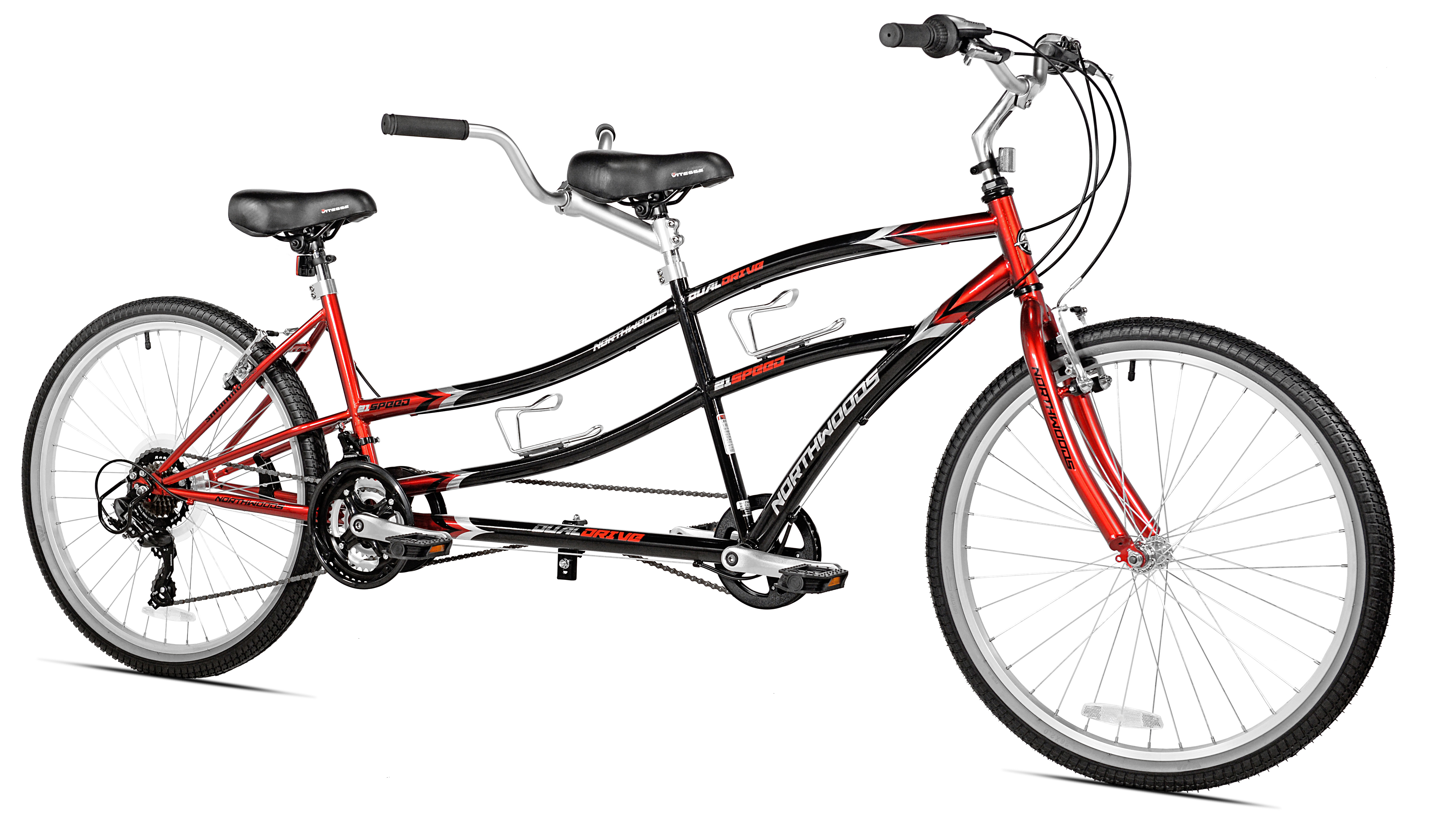 "Click here to buy 26"" Northwoods 21-Speed Dual Drive Tandem Bike by Kent International Inc."