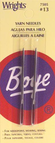 BOYE BOY3407505000M  NEEDLE 13 YARN STEEL 2PC