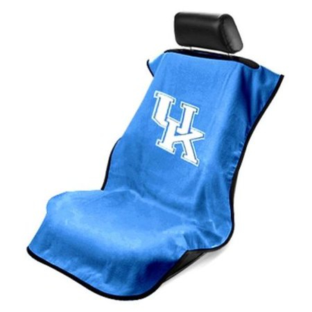 Seat Armour Blue Protector Towel Cover With Ncaa Kent Wild Cats Logo Sa100kent