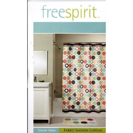 Freespirit Free Spirit Circle Time Fabric Shower Curtain By Chf Industries Inc