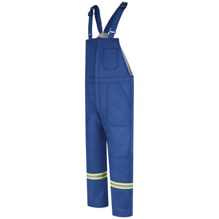 Bulwark Men's Deluxe Insulated Bib Overall w/ Reflective Trim - CAT 4 - (Reflective Bib)