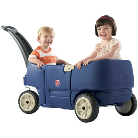 Step2 Wagon for Two Plus-Kids Pull Wagon, Blue](Toy Weapons For Sale)