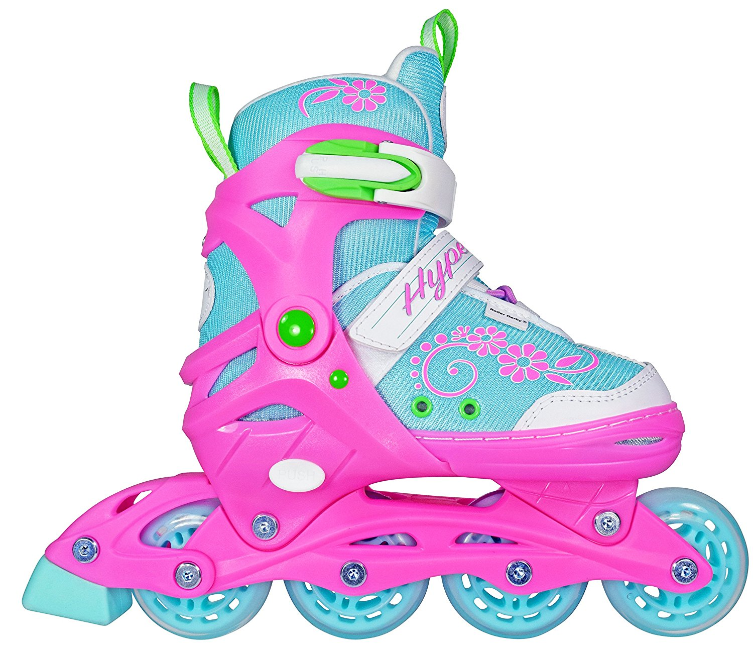 HYPE Sherbet Adjustable Children's Inline Skates by RC Sports