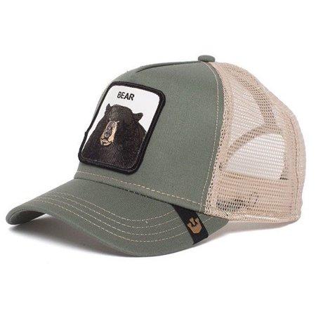 f239a1699fe12 Goorin Bros Animal Farm Snapback Trucker Hat Cap Rooster Stallion Pecker  Lion - Walmart.com