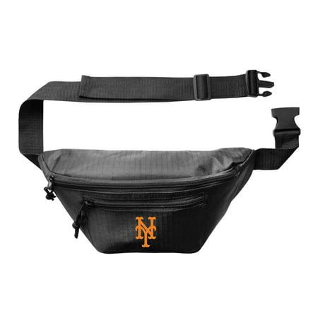 MLB Little Earth 3 Zip Hip Pack, New York Mets