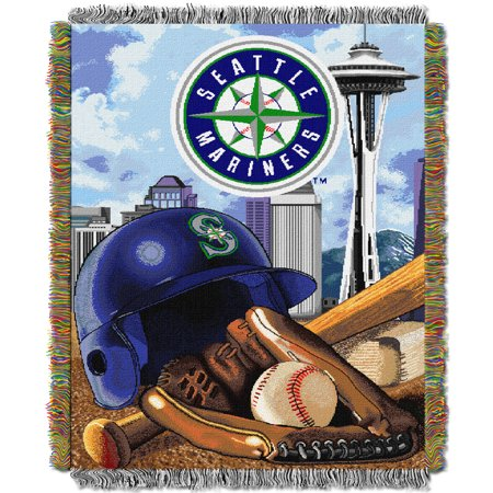Seattle Mariners The Northwest Company 48'' x 60'' Home Advantage Woven Throw - No