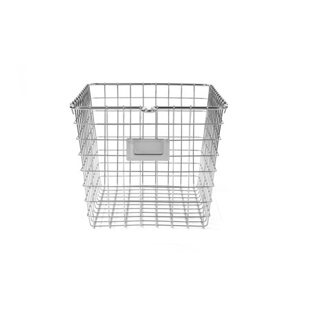 Spectrum Diversified Small Storage Basket, Chrome, 47870 ()