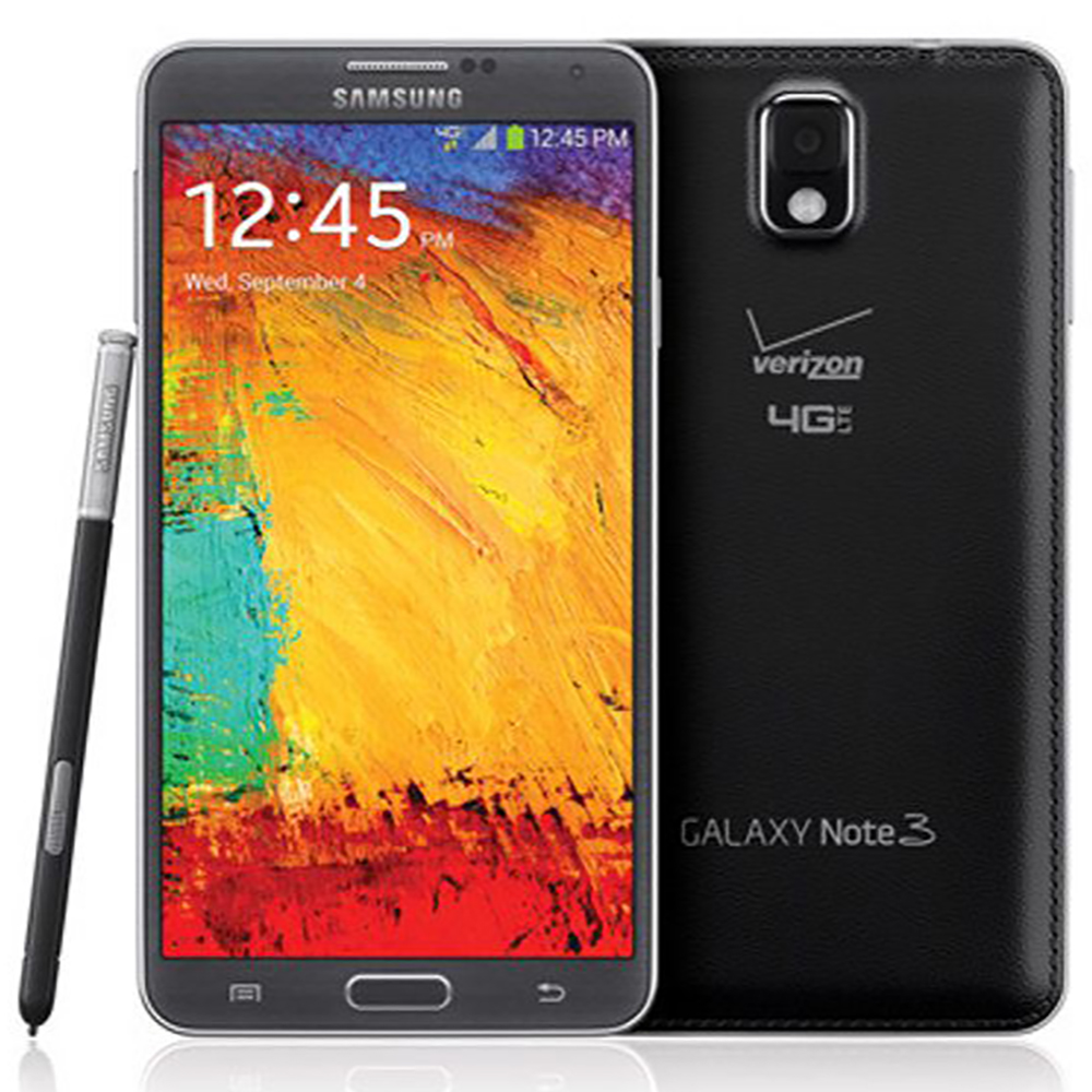 Samsung Galaxy Note 3 N900V Verizon Unlocked Phone w/ 13M...