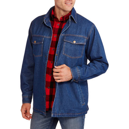 Mens Fleece Lined Plaid Flannel Jacket $ 39 out of 5 stars Gravel Gear. Sherpa Lined Flannel Shirt Jacket $ 59 5 out of 5 stars 9. Mens Big and Tall Flannel Lined Denim Jacket $ 56 out of 5 stars Field & Stream. Mens Sherpa-Lined Flannel Shirt Jacket $ 43 5 .