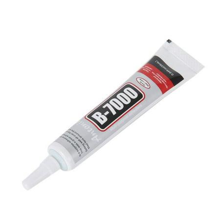 ZEDWELL 25ml Multipurpose B-7000 Strength Industrial Glue Transperant Adhesive for Phone Screen,Jewelry, Watch Repair Industrial Strength Glue