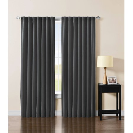 Thermal Insulated Blackout Curtain (Chezmoi Collection Thermal Insulated Blackout Back Tab Curtain Panel )