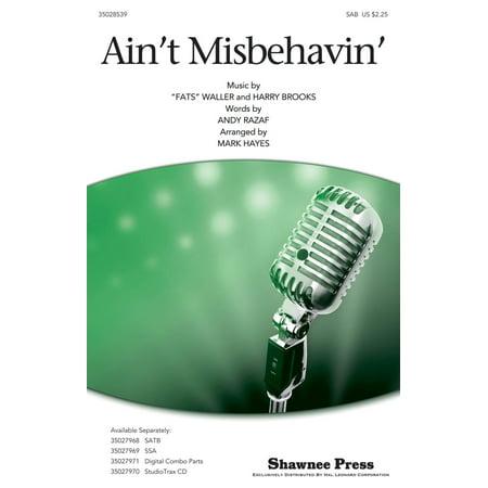 Shawnee Press Ain't Misbehavin' SAB by Thomas