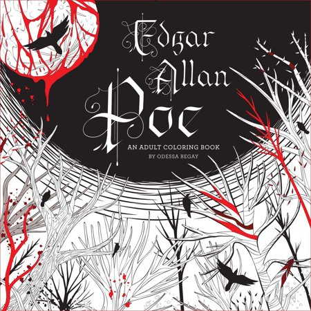 (Edgar Allan Poe: An Adult Coloring Book)