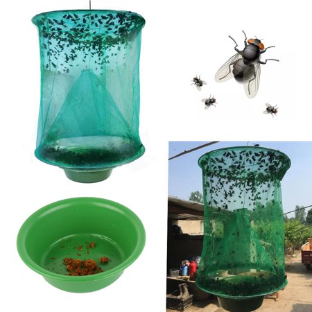 Folding Mosquito Capture Catching Fly Mesh Net Hanging Trap Insect Bug ()