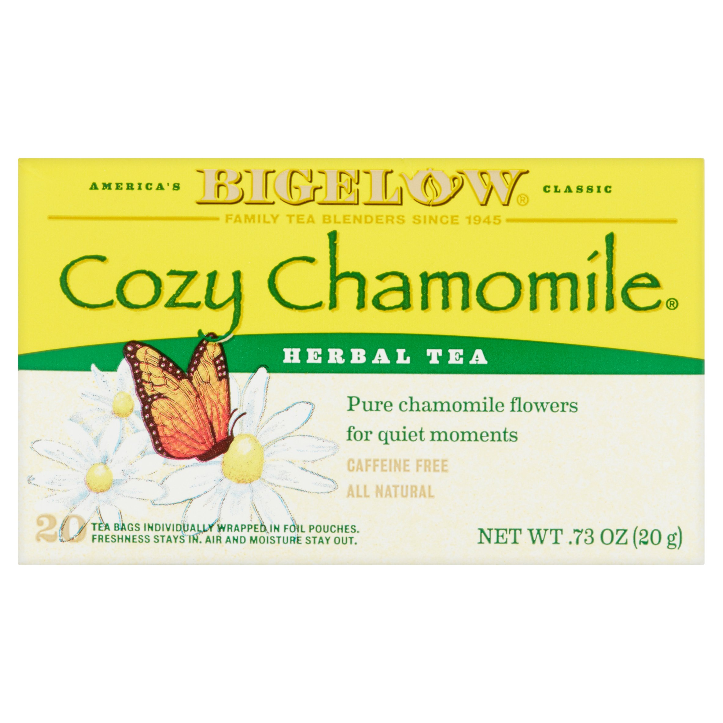 Bigelow Caffeine Free Cozy Chamomile Herbal Tea Bags, 20 ct by RC Bigelow, Inc.