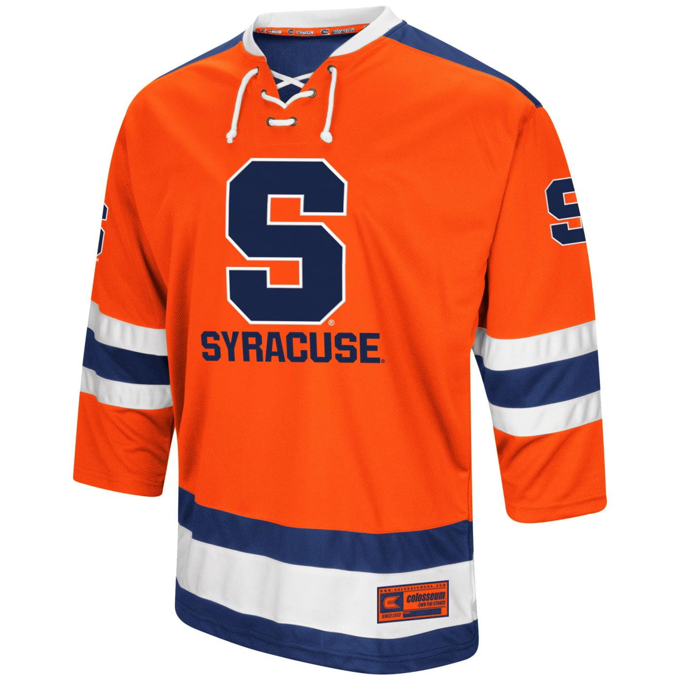 "Syracuse Orange NCAA ""Ice Machine"" Men's Hockey Sweater Jersey"
