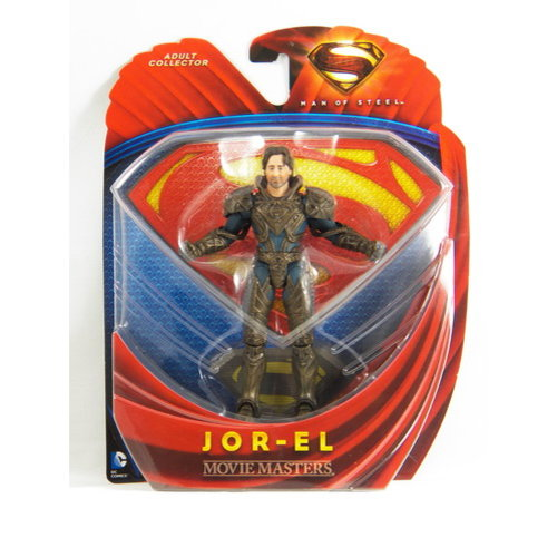 Movie Masters Superman: Man of Steel Jor-El Action Figure