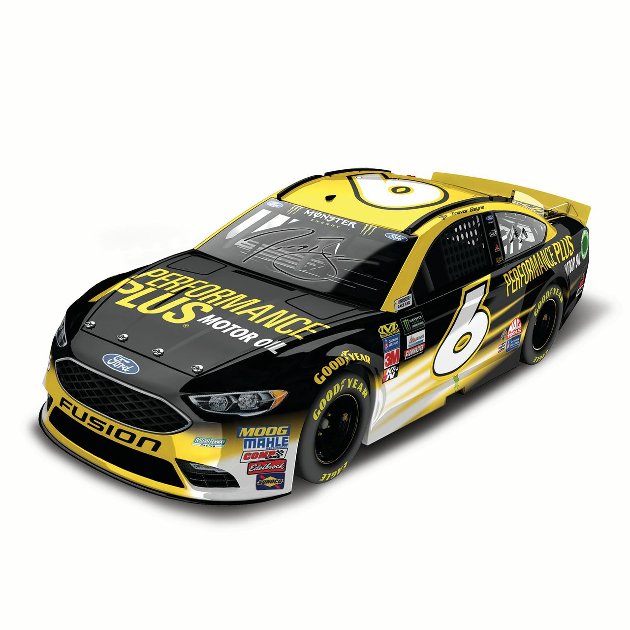 Trevor Bayne Action Racing 2017 #6 Performance Plus 1:24 Monster Energy Nascar Cup Series... by Lionel LLC