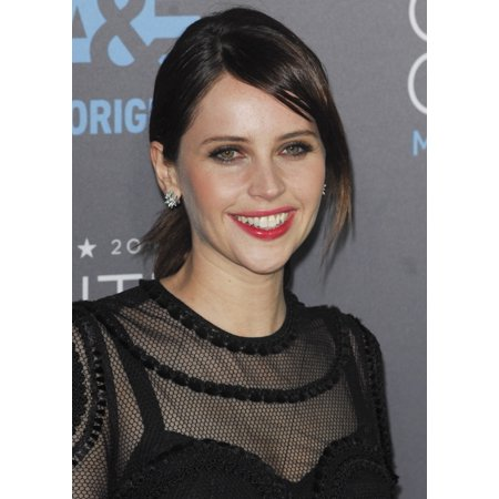 Felicity Jones At Arrivals For 20Th Annual Critics Choice Movie Awards The Hollywood Palladium Los Angeles Ca January 15 2015 Photo By Elizabeth Goodenougheverett Collection Photo Print