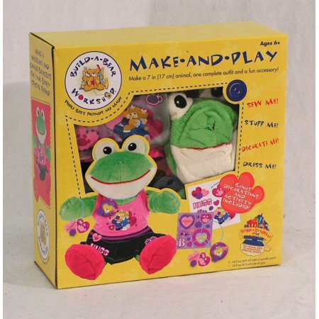 Build A Bear Make And Play Frog Friendship