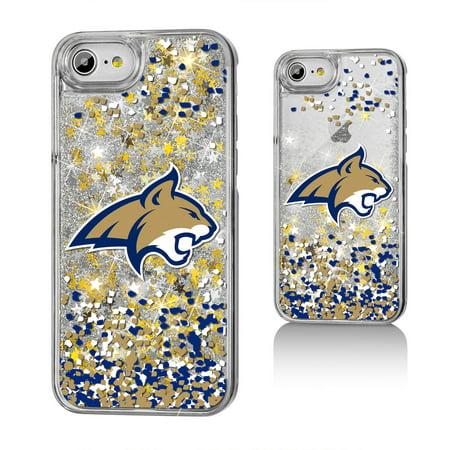MSU Montana State Bobcats Confetti Glitter Case for iPhone 8 / 7 / 6