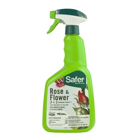 Safer Brand Rose & Flower 3-in-1 Garden Spray (Candytuft Flower)