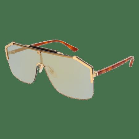e3b0faf2597 Gucci - Sunglasses Gucci GG 0291 S- 005 GOLD   BRONZE HAVANA - Walmart.com