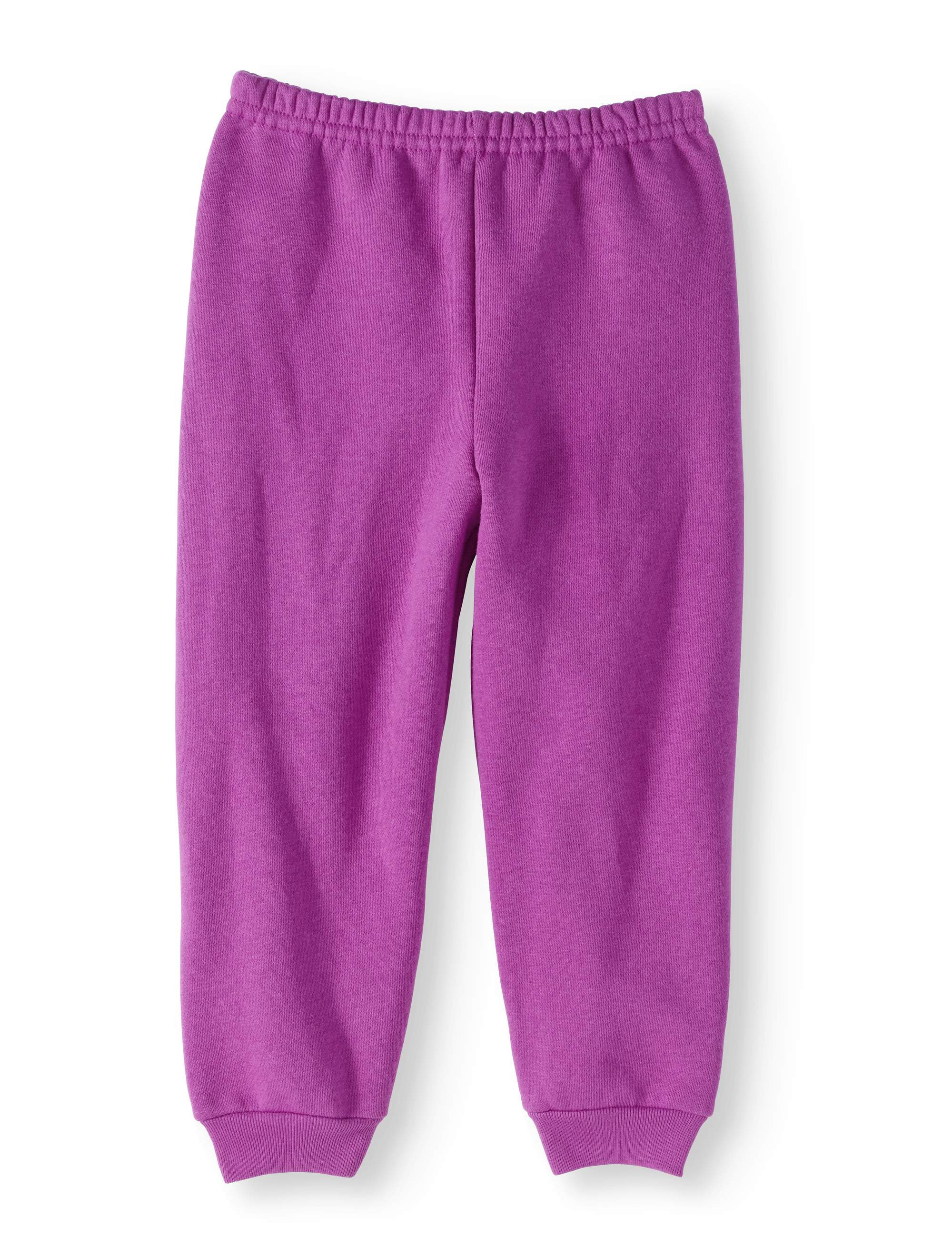 Baby Toddler Girls' Solid Fleece Sweatpants
