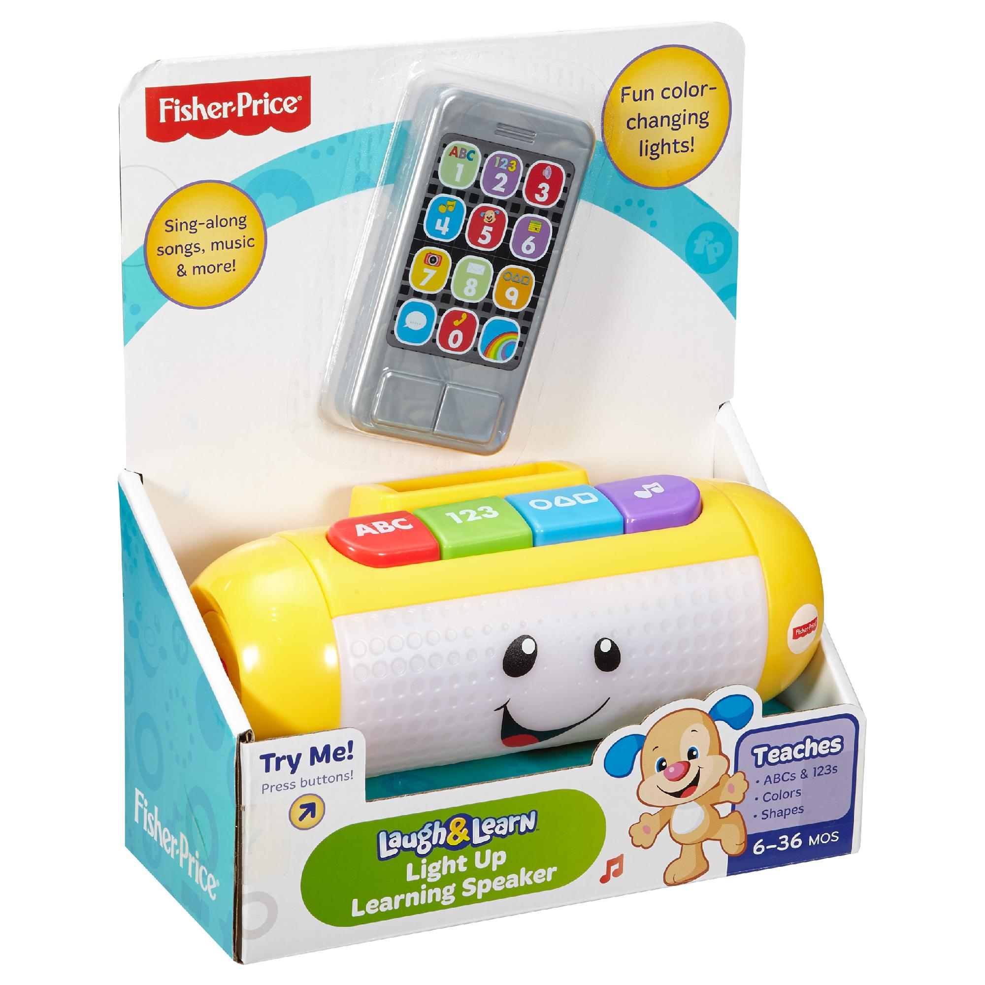 Fisher Price Laugh & Learn Learning Kitchen | Fisher Price Laugh Learn Light Up Learning Speaker Walmart Com