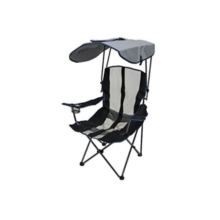 Pleasing Kelsyus Original Canopy Chair Foldable Chair For Camping Tailgates And Outdoor Events Navy Stripe Spiritservingveterans Wood Chair Design Ideas Spiritservingveteransorg