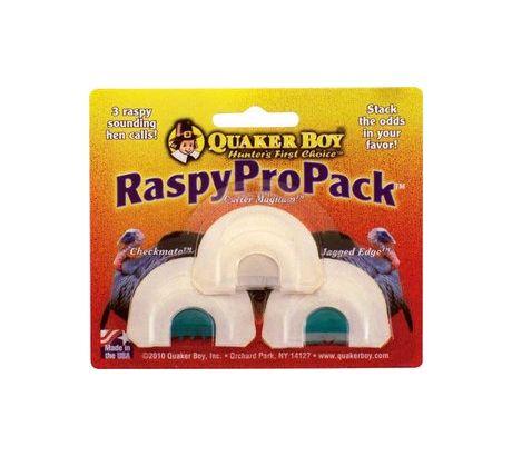 Quaker Boy Raspy Pro Pack Call Multi-Colored