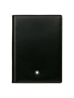 Mont Blanc Meisterstuck Black Leather Passport Holder 35285