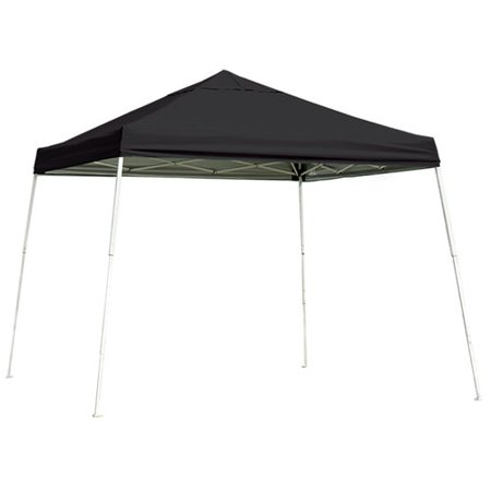 10' x 10' Pro Truss Top Pop-up Canopy Straight Leg White Cover