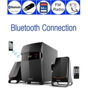Boytone BT-3685F Wireless Bluetooth 2.1 Speaker System FM radio Remote Control
