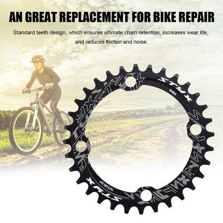 32/34/36/38T BCD 104 Mountain Bike Steel Single Crank Chain Ring Repair Parts , Moutain Bike Chainring, Moutain Bike Cahin Ring ()