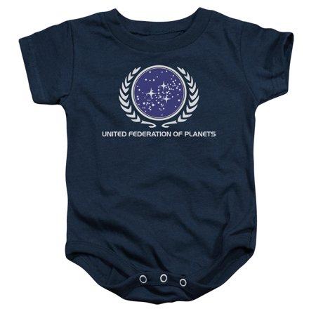 Star Trek United Federation Logo Unisex Baby Snapsuit