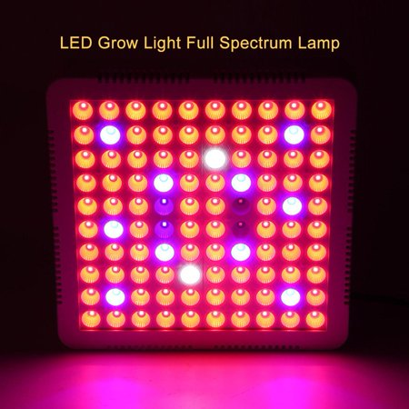 Yosoo 85-264V 100LED 300W Grow Light Full Spectrum Lamp for Hydroponics Indoor Plants Flowers US Plug,Plant Lamp, LED Grow Light - image 5 of 10