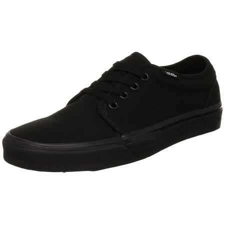 Vans Unisex Shoes Women Men 106 Vulcanized Black Black - Unusual Vans Shoes