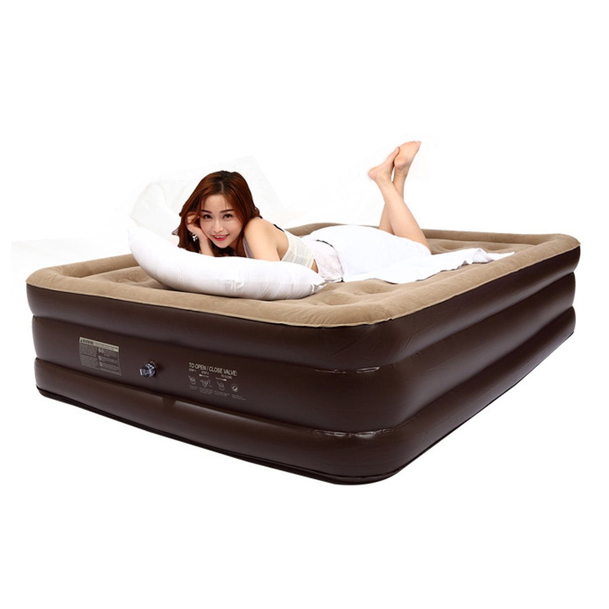 Hot Sale Comfort Double Single Luxury Air Bed Inflatable Mattress
