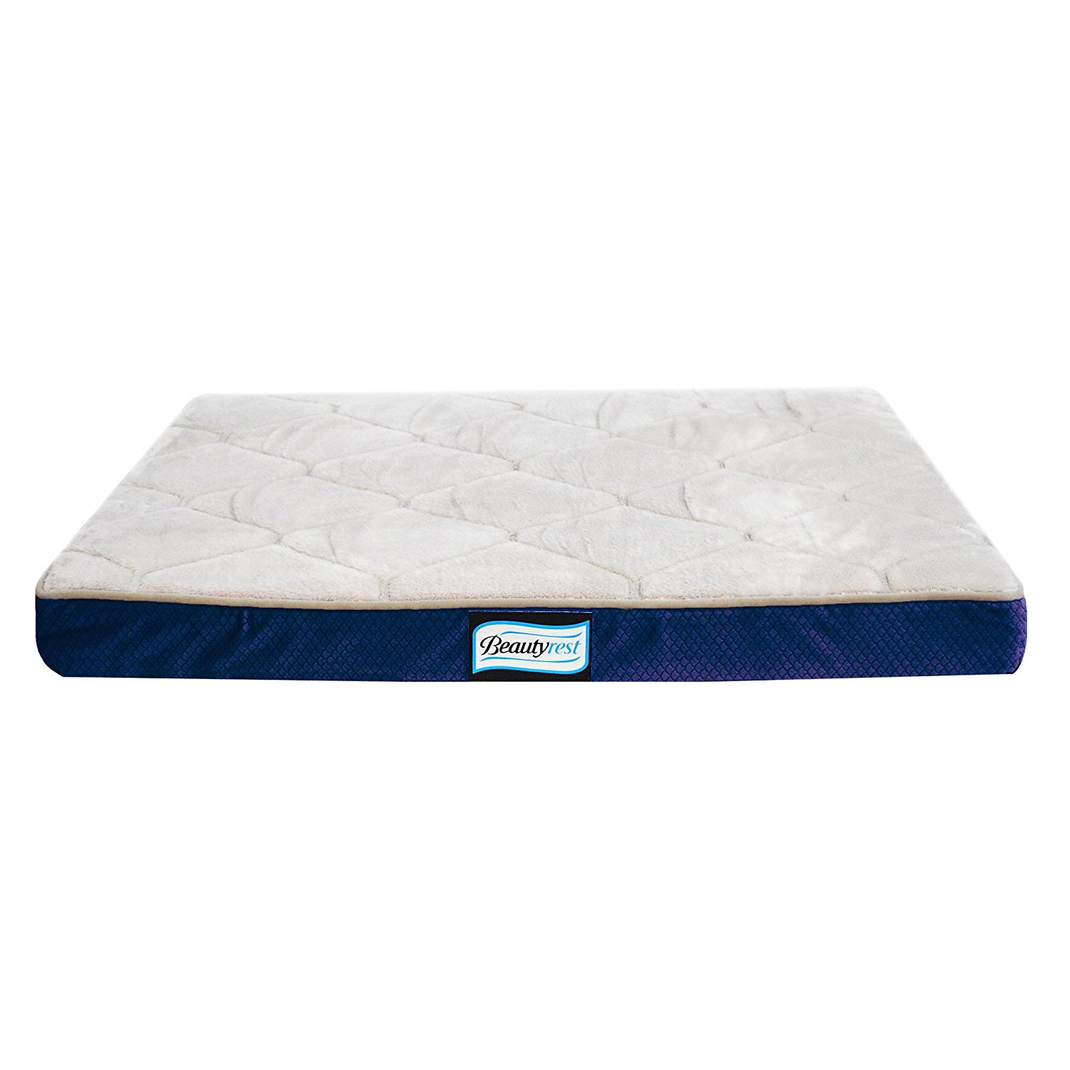 Simmons Beautyrest Thera Bed Orthopedic Memory Foam Dog Bed and Kennel   Crate Mat, Dual blend of orthopedic materials... by