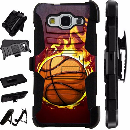For Samsung Galaxy J1 (2016) J120 / Amp 2 / Express 3 / Luna 4G / Ace VE  LTE Case Heavy Duty Hybrid Armor Dual Layer Cover Kick Stand Rugged  LuxGuard