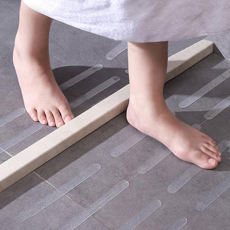 12 Pcs Anti Slip Grip Strips Non-slip Bathtub Safety Stickers Shower Floor ☆